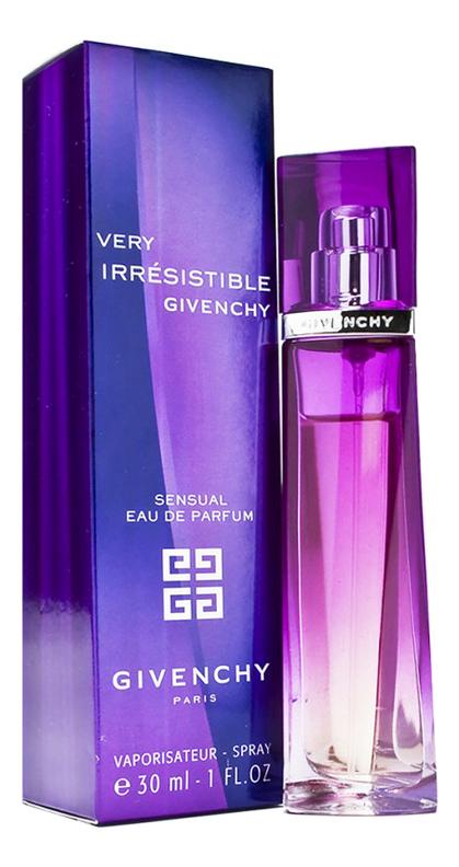 цена Givenchy Very Irresistible Sensual: парфюмерная вода 30мл онлайн в 2017 году
