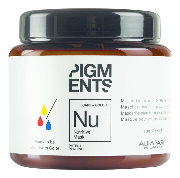 Купить Маска для сухих волос Pigments Nutritive Mask 200мл, Alfaparf Milano