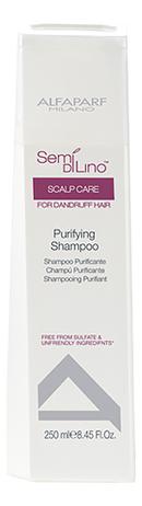 Фото - Очищающий шампунь Semi Di Lino Scalp Care Purifying Shampoo 250мл шампунь против выпадения волос semi di lino scalp care energizing shampoo 1000мл шампунь 1000мл
