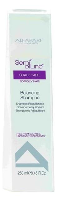 Фото - Балансирующий шампунь для волос Semi Di Lino Scalp Care Balancing Shampoo 250мл шампунь против выпадения волос semi di lino scalp care energizing shampoo 1000мл шампунь 1000мл