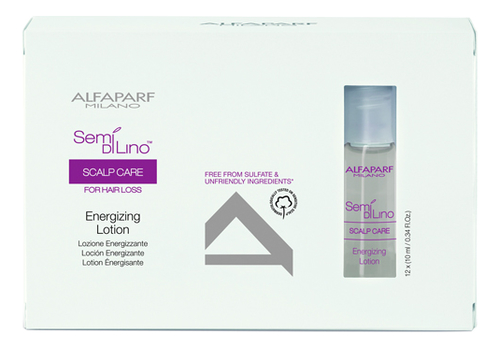 Лосьон против выпадения волос Semi Di Lino Scalp Care Energizing Lotion 12*10мл