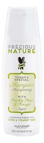 Шампунь для длинных и прямых волос Precious Nature Shampoo For Long & Straight Hair 250мл