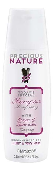 Шампунь для кудрявых и вьющихся волос Precious Nature Shampoo For Curly & Wavy Hair 250мл