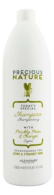 Шампунь для длинных и прямых волос Precious Nature Shampoo For Long & Straight Hair 1000мл