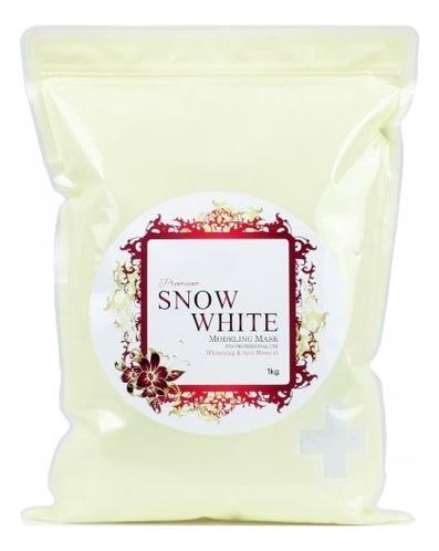 Фото - Маска альгинатная Осветляющая Premium Snow White Modeling Mask 1кг: Маска 1000г (запасной блок) маска альгинатная осветляющая саше anskin snow white modeling mask refill 25гр