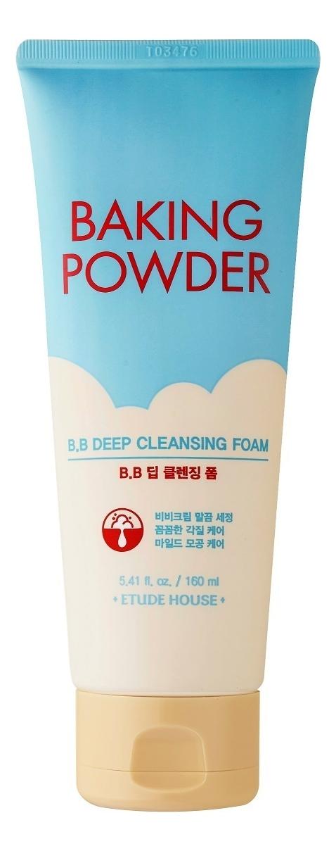 Купить Пенка для умывания Baking Powder BB Deep Cleansing Foam 160мл: Пенка 160мл, Etude House