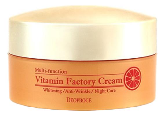 Крем для лица ночной омолаживающий Seabuckthorn Vitamin Factory Cream 100г крем для век омолаживающий 40г deoproce herb gold