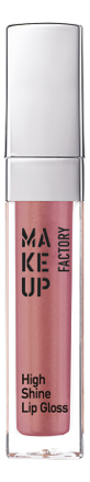 Купить Блеск для губ с эффектом влажных губ High Shine Lip Gloss 6, 5мл: 38 Iridescent Apricot, MAKE UP FACTORY