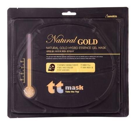 Купить Маска для лица гидрогелевая с золотом Natural Gold Hydro Essence Gel Mask 80г, Anskin