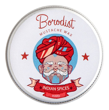 Borodist Воск для усов Mustache Wax Indian Spices 13г