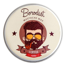 Borodist Воск для усов Mustache Wax Coffe 13г