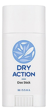 Missha Дезодорант-стик Dry Action Deo Stick 40г