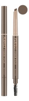 Купить Карандаш для бровей Perfect Eyebrow Styler 0, 35г: Light Brown, Missha