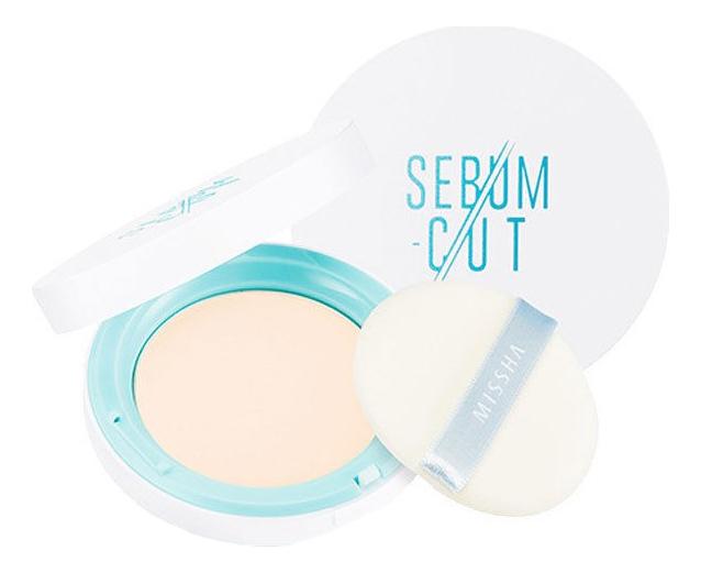 Компактная пудра Sebum-Cut Powder Pact 11г: Clear Peach пудра cats wink clear pact tony moly