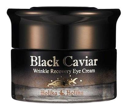 Купить Крем-лифтинг для области вокруг глаз с экстрактом черной икры Black Caviar Anti-Wrinkle Eye Cream 30мл, Holika Holika