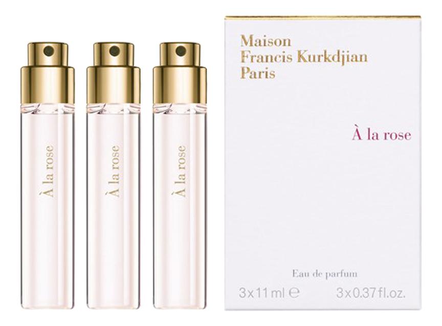 Фото - A la Rose: парфюмерная вода 3*11мл l homme a la rose парфюмерная вода 35мл