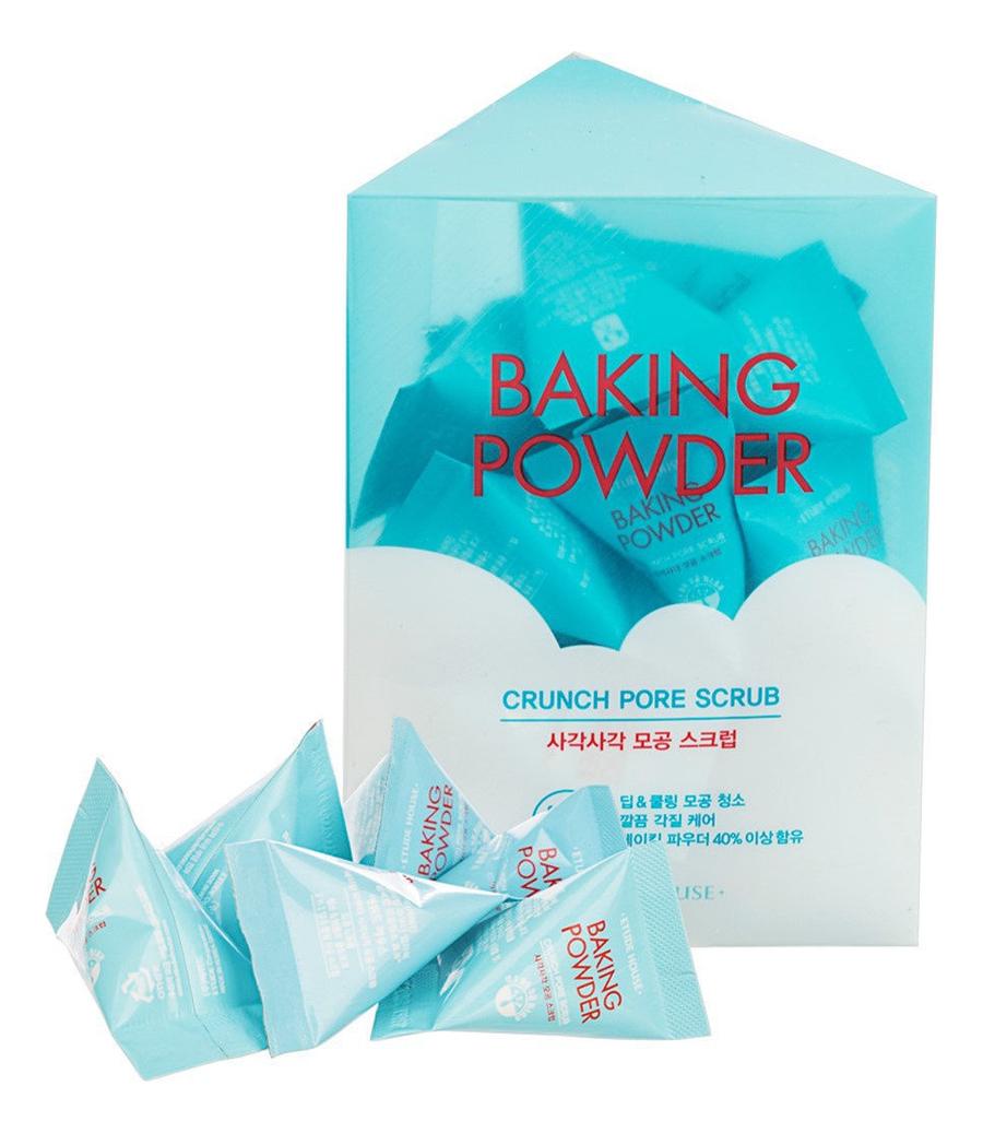 Купить Скраб для лица Baking Powder Crunch Pore Scrub 24*7г, Скраб для лица с содой для очищения пор Baking Powder Crunch Pore Scrub, Etude House