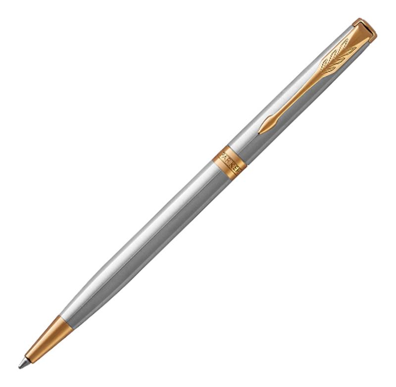 Шариковая ручка тонкая Essential Sonnet Stainless Steel GT 1931508