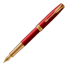Parker Ручка перьевая Essential Sonnet Laque Red GT
