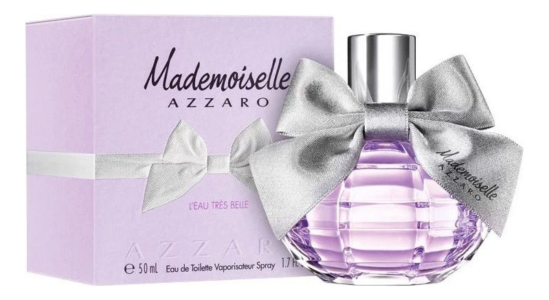 Azzaro Mademoiselle L'Eau Tres Belle : туалетная вода 50мл loris azzaro azzaro pour elle туалетные духи тестер 75 мл