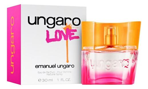 Emanuel Ungaro Ungaro Love : парфюмерная вода 30мл