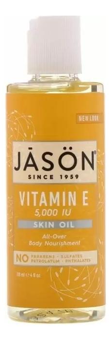 Купить Масло для тела с витамином E Vitamin E 5, 000 I.U Pure Natural Skin Oil 118мл, Jason