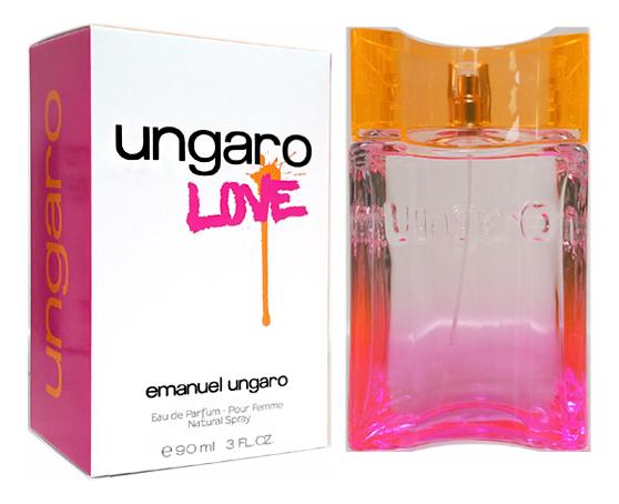 Ungaro Love: парфюмерная вода 90мл