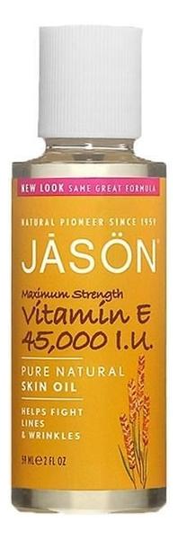 Масло для лица с витамином E Maximum Strength Vitamin 45,000 I.U Pure Natural Skin Oil 59мл