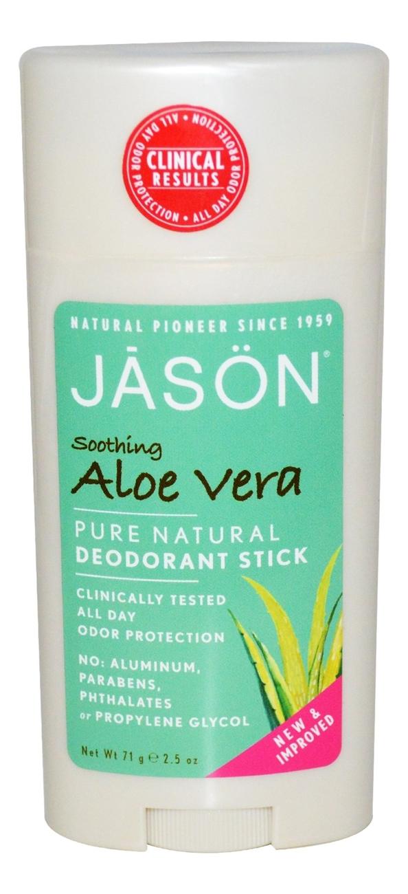 Дезодорант-стик успокаивающий с экстрактом алоэ вера Soothing Aloe Vera Pure Natural Deodorant Stick 71г