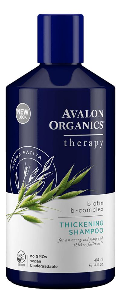 Шампунь для тонких и слабых волос Therapy Biotin B-Complex Thickening Shampoo 414мл biotin collagen shampoo