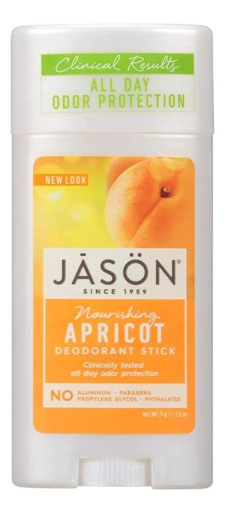 Дезодорант-стик с маслом абрикоса Nourishing Apricot Pure Natural Deodorant Stick 71г