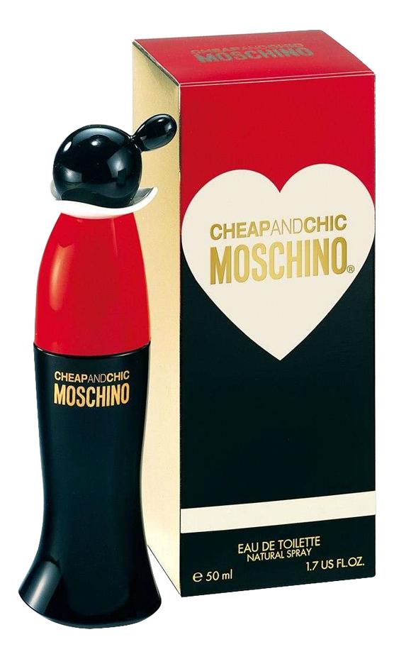 цена на Moschino Cheap and Chic: туалетная вода 50мл