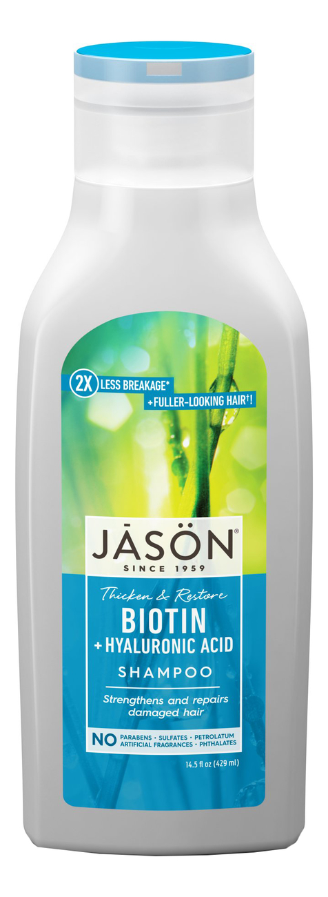 Восстанавливающий шампунь для волос с биотином Restorative Biotin Pure Natural Shampoo 473мл biotin collagen shampoo