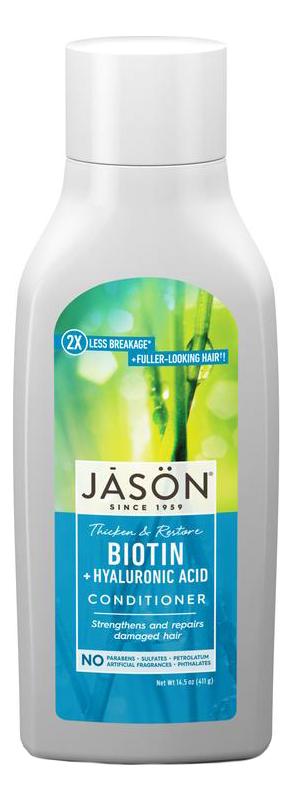 Купить Кондиционер для волос восстанавливающий с биотином Restorative Biotin Pure Natural Conditioner 454мл, Jason