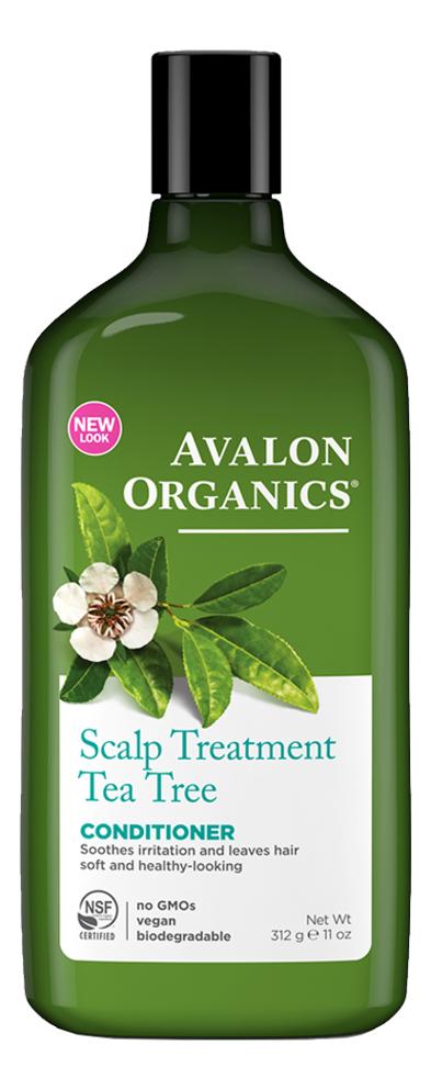 Купить Кондиционер с маслом чайного дерева Tea Tree Scalp Treatment Conditioner 312мл, Avalon Organics