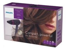 PHILIPS Фен для волос Essential Care Compact BHD002/00 1600W
