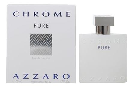 Azzaro Chrome Pure: туалетная вода 50мл фото