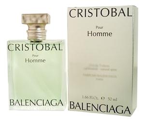 Купить Cristobal Pour Homme: туалетная вода 50мл, Balenciaga