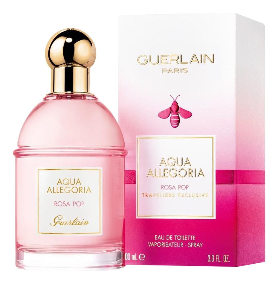 Купить Guerlain Aqua Allegoria Rosa Pop: туалетная вода 100мл
