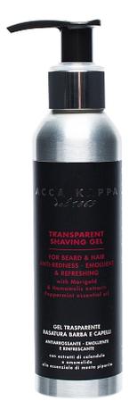 Купить Гель для бритья Transparent Shaving Gel 125мл, Acca Kappa