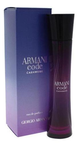 Armani Code Cashmere: парфюмерная вода 50мл