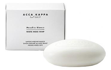 Купить Мыло туалетное Белый мускус White Moss Soap 150г, Acca Kappa