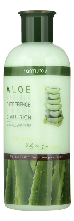 Фото - Эмульсия для лица с экстрактом алоэ Aloe Visible Difference Fresh Emulsion 350мл эмульсия для лица с экстрактом алоэ aloe visible difference fresh emulsion 350мл