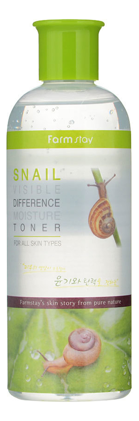 Купить Тонер для лица с муцином улитки Snail Visible Difference Moisture Toner 350мл, Farm Stay