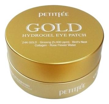 Купить Гидрогелевые патчи для области вокруг глаз Gold Hydrogel Eye Patch 60шт, Petitfee