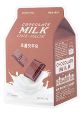 A'PIEU Маска для лица с экстрактом шоколада Chocolate Milk One-Pack 21г