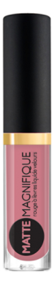 Купить Матовая жидкая помада для губ Matte Magnifique Rouge a Levres Liquide Velours 3мл: No 210, Vivienne Sabo