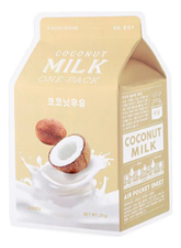 A'PIEU Маска для лица с экстрактом кокоса Coconut Milk One-Pack 21г