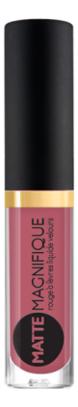Купить Матовая жидкая помада для губ Matte Magnifique Rouge a Levres Liquide Velours 3мл: No 212, Vivienne Sabo