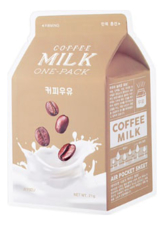 A'PIEU Маска для лица с экстрактом кофейных зерен Coffee Milk One-Pack 21г